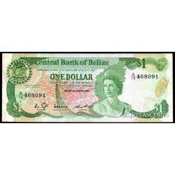 Belize - 1 Dollar 1986