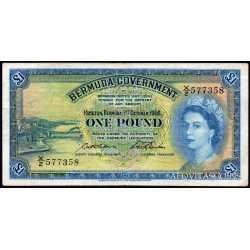 Bermuda - 1 pound 1966