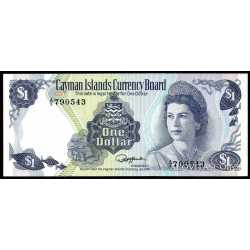 Cayman Islands - 1 Dollar 1974