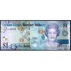Cayman Islands - 1 Dollar 2011