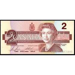 Canada - 2 Dollars 1986