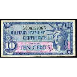 USA - 10 Cent 1961 Certificato Militare