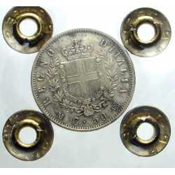50 Cent. 1863 M Stemma