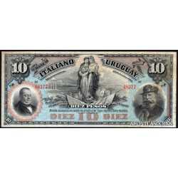 10 Pesos 1887