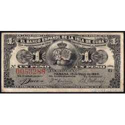 1 Peso 1896