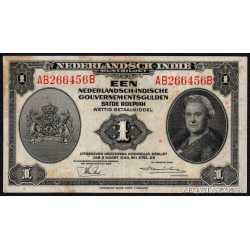 Netherlands - Indies 1 Gulden 1943