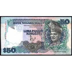 Malesia - 50 Ringgit 1987