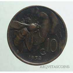 Vitt. Eman. III - 10 Cent Ape 1932