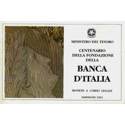 Trittico Banca D'Italia 1993