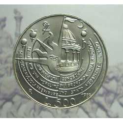 500 Lire 1989 T. Campanella