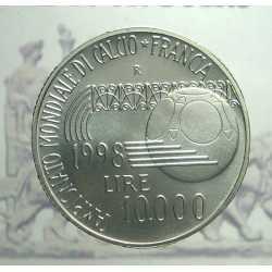 10.000 Lire Francia 1998