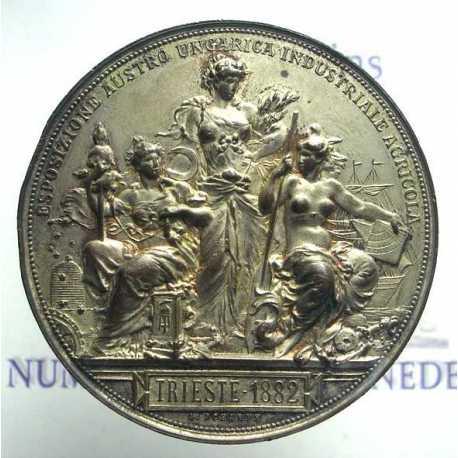 Trieste 1882 Esposizione Austro - Ungarica