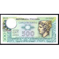 500 Lire Mercurio 1976