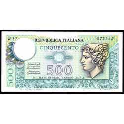 500 Lire Mercurio 1979
