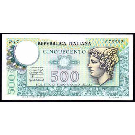 500 Lire Mercurio 1976 W