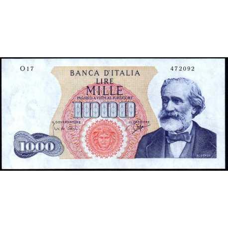 1000 Lire 1963 Verdi I° Tipo