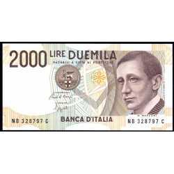 2000 Lire 1992 Marconi