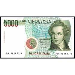 5000 Lire 1985 Bellini