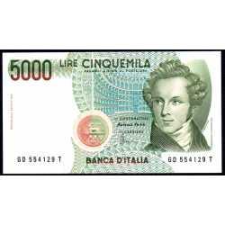 5000 Lire 1996 Bellini