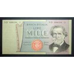 1000 Lire G. Verdi II° 1980
