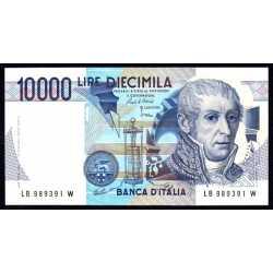 10.000 Lire A. Volta 1985