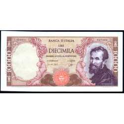 10.000 Lire Michelangelo 1962