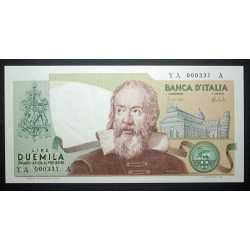 2000 Lire Galileo N.B.