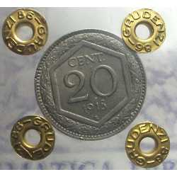 Vitt. Eman. III - 20 Cent 1918 Esa. Rig.