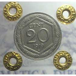 Vitt. Eman. III - 20 cent 1919 Es R.