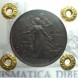 Vitt. Eman. III - 10 Cent 1911