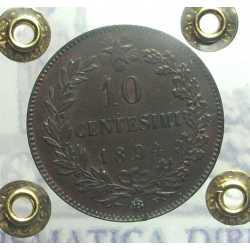 Umb. I - 10 Cent 1894 BI