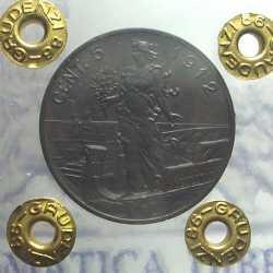 Vitt. Eman. III - 5 Cent 1912 NC