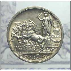 Vitt. Eman. III - 2 Lire 1914