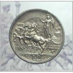 Vitt. Eman. III - 2 Lire 1916