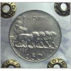 Vitt. Eman. III - 50 Cent 1920 L