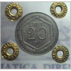 Vitt. Eman. III - 20 Cent Es 1918 L