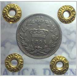 Umberto I - 20 Cent 1895 R