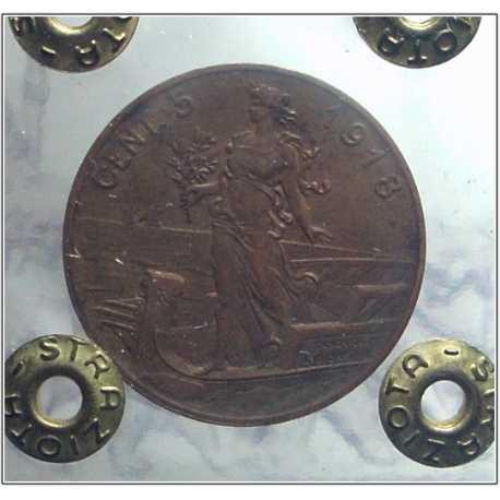 Vitt. Eman. III - 5 Cent 1918
