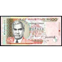 Mauritius - 100 rupees 2007