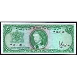Trinidad & Tobago - 5 Dollars 1964