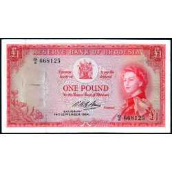 Rhodesia - 1 Pound 1964