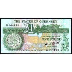 Guernsey - Inghilterra - 1 Pound 1980/89