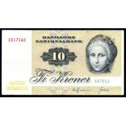 Danimarca - 10 Kroner 1976