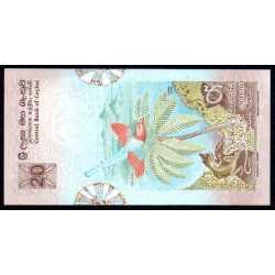 Sri Lanka - 20 Rupees 1979