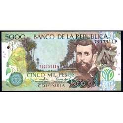 Colombia - 5000 Pesos 1997