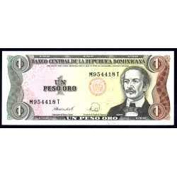 Repubblica Dominicana - 1 Peso Oro 1988