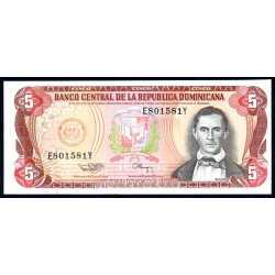 Repubblica Dominicana - 5 Pesos Oro 1994