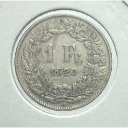 Switzerland - 1 Franc 1920