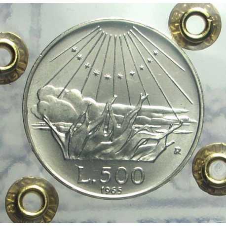 500 Lire Dante 1965 FDC