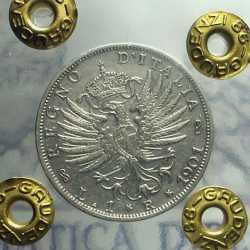 Vitt. Eman. III - 1 Lira 1901 N.C.